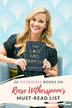 26 Books on Reese Witherspoon's Must-Read List - 26 Books on Reese Witherspoon's Must-Read List Book List Must Read, Top Books To Read, Books To Read For Women, Books You Should Read, Book Lists, Good Books, Oprah Book Club List, Ya Books, Teen Books