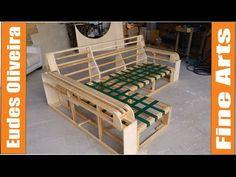 Estruturas de madeira para estofados/ Wooden frame for upholstery Wooden Sofa Designs, Wooden Sofa Set, Sofa Set Designs, Wood Sofa, Outdoor Furniture Sofa, Luxury Home Furniture, Upholstered Furniture, Pallet Furniture, Furniture Market
