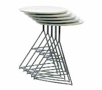 The Ray Round table can be nested making it a great choice for space saving. #outdoorfurniture #contractfurniture #tables