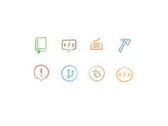 Chalk board icons by Mu-An Chiou for GitHub