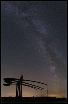 """Milky Way over Hortobagy Starry Sky Park"" by Tamas Ladanyi #Hungary"