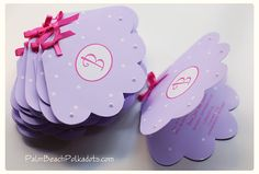 Under the Sea Sea Shell that opens Birthday Invitation  by Palm Beach Polkadots on Etsy, $3.00