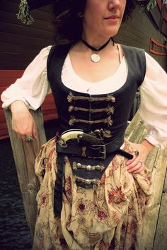 Festive Attyre: first voyage of the pirate costume