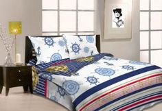 Holey Quilt obliečky Bavlna Kormidlo 140x200, 70x90cm Bedding, Quilts, Furniture, Home Decor, Decoration Home, Room Decor, Bed Linens, Quilt Sets, Home Furnishings
