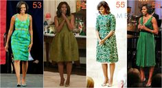michelle obama zieleń Michelle Obama, Lily Pulitzer, Dresses, Fashion, Vestidos, Moda, Lilly Pulitzer, Fasion, Dress