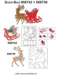 Descrizione assemblato a fustella renna