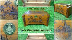 Nauticalia Maritimt - www.tamina1953.com Antique Roses, Storage Chest, Vintage Antiques, Decorative Boxes, Home Decor, Crate, Decoration Home, Room Decor, Home Interior Design