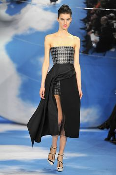 Christian Dior Fall/Winter 2013 Ready-to-Wear show as part of Paris Fashion Week on March 1, 2013 in Paris, France.