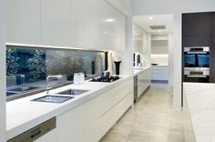Kitchen remodeling is one of the most desirable home improvement projects for many homeowners. A new kitchen increases the value of your home and makes your life easier. Kitchen Pantry Design, Kitchen Cabinetry, Modern Kitchen Design, Interior Design Kitchen, New Kitchen, Kitchen Decor, Kitchen Sink, Kitchen Layout, Kitchen Butlers Pantry