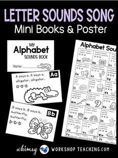 Tips for Teaching Letter Sounds - Whimsy Workshop Teaching
