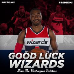 Good Luck to the Washington Wizards in Game 3 of the NBA Playoffs against the Hawks!! #DCRising #HTTR