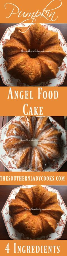 the-southern-lady-cooks-pumpkin-angel-food-cake                                                                                                                                                                                 More