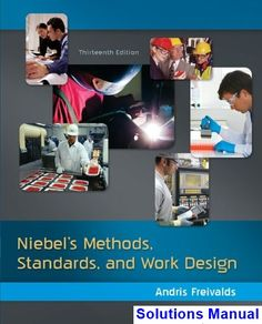 57 best solution manual download images on pinterest in 2018 niebels methods standards and work design 13th edition andris freivalds solutions manual test bank fandeluxe Gallery