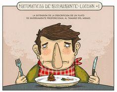 Matemáticas de restaurante.   Matemolivares