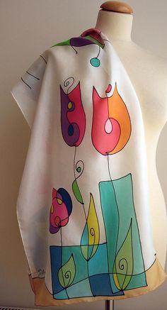 Ideas Gifts For Parents Unique Saree Painting, Dress Painting, T Shirt Painting, Fabric Painting, Fabric Art, Fabric Paint Shirt, Hand Painted Dress, Hand Painted Fabric, Painted Clothes