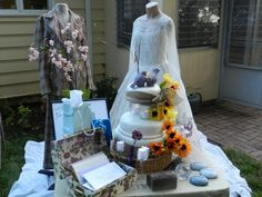 Original wedding gown and Honeymoon suit on display for the anniversary party! 40th Wedding Anniversary Party Ideas, Anniversary Message, 40th Anniversary, Anniversary Parties, Mom And Dad, Party Planning, Wedding Gowns, Children, Suit