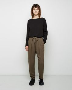 BLACK CRANE   Slim Pant   Shop at La Garçonne