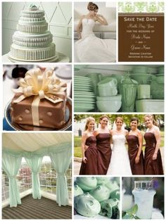 Decoration And Bridesmaid Color