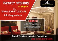Turnkey Interiors in Gurgaon Residential Interior Design, Interior Designing, Simple Designs, Cool Designs, Space Available, Commercial Interiors, Best Interior, Beautiful Interiors, Neutral Colors