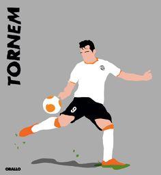 #ilustración #illustration #nike @valenciacf @nike #futbol (2015)