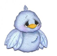 Bluebird of happiness?