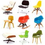 Designer Interior Collection Designer Chairs: Each set includes nine 1/12 scale iconic chairs. This is Vol. 2 of 6. $69.95.  I would love to have each of these.  Takes a lot less room than the real thing.