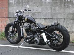Harley-Davidson | Bobber Inspiration - Bobbers and Custom Motorcycles | twowheelcruise September 2014