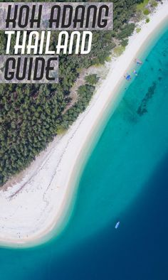 Koh Adang Ultimate Thailand Guide. Koh Adang is located in Tarutao National Marine Park near the island Koh Lipe. Gorgeous beaches, hiking, via /gettingstamped/