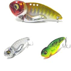 Ice Fishing Lures, Fishing Reels, Air Brush Painting, It Cast, Long Distance, Weights, Action, Metal, Crafts