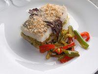 merluza rellena al horno Casablanca, Relleno, Salmon Burgers, Meat, Chicken, Ethnic Recipes, Food, Oven, Cook