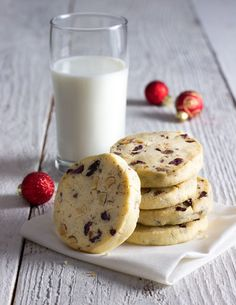 How do you thank the people who take care of a loved one? Hazelnut, Milk Chocolate, and Cherry Icebox Cookies are cookies for angels.