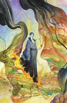 THE SANDMAN: OVERTURE SPECIAL EDITION #4 Written by NEIL GAIMAN Art and cover by J.H. WILLIAMS III On sale DECEMBER 24 • 40 pg, FC, $4.99 US • MATURE READERS This Special Edition will include the entire fourth issue of the new miniseries before coloring, giving readers a behind-the-scenes look at J.H. Williams's unique process. Williams's original coloring will be shown in addition to the black, white and gray tones of the original work.