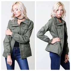 Take A Hike Jacket - Olive – Pistols & Pearls Boutique
