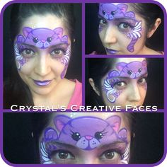 Kitty face by Crystal's Creative Faces