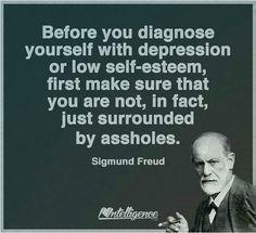 Wisdom by Freud  Ha! So very true. ❤️