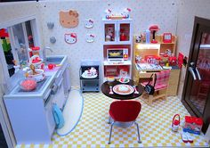 Re-Ment Hello Kitty apartment