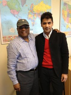 Anand Dani (right), CEO of Dani Organic Foods of India, visits HQO and meets with our CEO, Raju Boligala (left), to discuss organic agriculture.