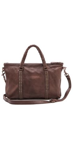 c279f2a2b1e1e3 totally loving this dark brown bag with the dark brass hardware