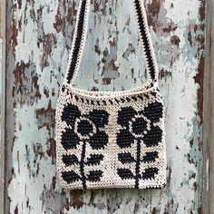 Orla Keily inspired crochet bag