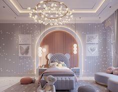 Luxury Kids Bedroom, Bedroom For Girls Kids, Modern Kids Bedroom, Kids Bedroom Designs, Kids Room Design, Dream Rooms, Luxurious Bedrooms, Girl Room, Bedroom Decor