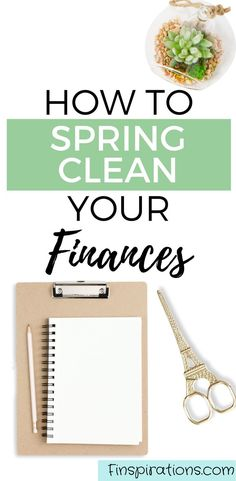 Where do you stand with your money goals?Spring clean your finances and make room for financial progress. | Money Tips | Personal Finance Tips | Money Management Tips | #Finspirations #SpringClean #BudgetHelp #SaveMoney