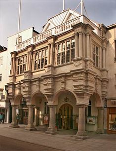 Exeter Guildhall - Exeter, Devon, England, UK. See http://www.cathedralcityguide.co.uk/exeter for more on Exeter.