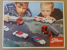 1968-69 Die Cast Catalog TEKNO Denmark Catalogue VW Volvo Ford Mercedes Cars #TEKNO