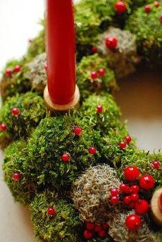 Natürliche Kranz Urlaub Kranz Weihnachten Kranz Weihnachten