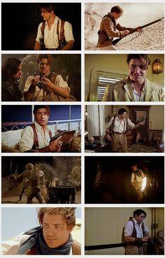 brendan fraser - The Mummy Mummy Movie, Movie Tv, Chroma Key, Movies Showing, Movies And Tv Shows, Brendan Fraser The Mummy, Fantasy Movies, About Time Movie, Indiana Jones