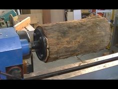 167 Woodturning a $150 table lamp from a $0 20 log - YouTube