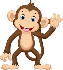 Illustration about Illustration of cute monkey waving. Illustration of safari, forest, cartoon - 64984513 Cartoon Monkey, Monkey Art, Pet Monkey, Baby Cartoon, Cute Cartoon, Baby Animal Names, Baby Animals, Cute Animals, Illustration Mignonne