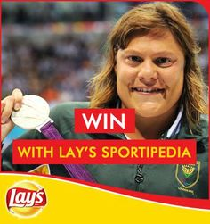 We couldn't be prouder of awesome star swimmer Natalie DuToit and all her achievements!  She is definitely going in the Lays #Sportipedia  What moment would you put in? Tell us and WIN!