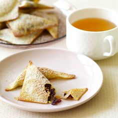 Baked Chocolate, Almond and Cranberry Wontons | Recipes | Weight Watchers