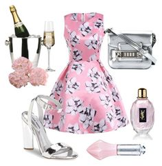 A fashion look from March 2017 featuring vintage floral dress, ankle wrap sandals and square purse. Browse and shop related looks. Morgan Lane, Tree Company, Ankle Wrap Sandals, Proenza Schouler, Vintage Floral, Steve Madden, Yves Saint Laurent, Fashion Looks, Chic